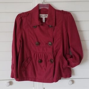 American Rag cie soft wine red jacket